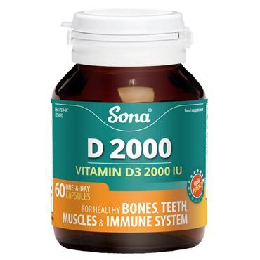 Sona D 2000 60 Capsules