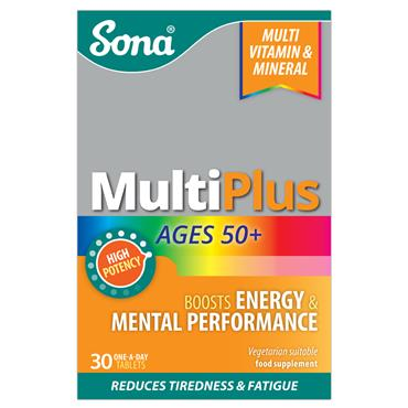 Sona MultiPlus Ages 50+ 30 Tablets