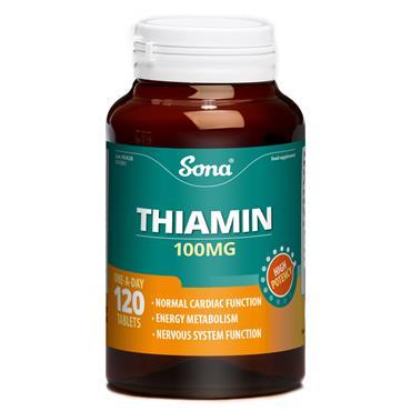 Sona Thiamin 120 Tablets