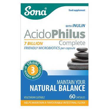 Sona AcidoPhilus Complete 60 Capsules