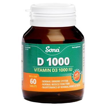 Sona D 1000 60 Tablets