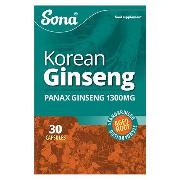 Sona Ginseng 30 Capsules