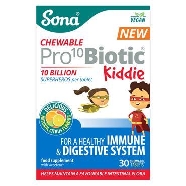 Sona Pro10 Biotic Kiddie 30 Chewable Tablets
