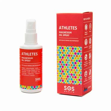 SOS Health Athletes Magnesium Oil Spray 100ml