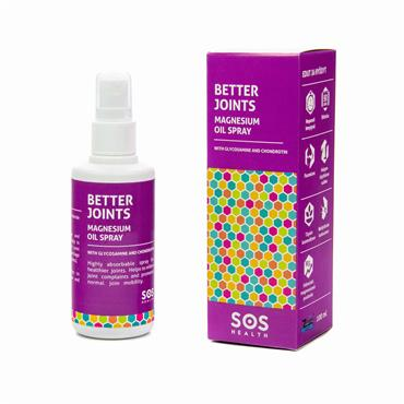 SOS Health Better Joints Magnesium Oil Spray 100ml