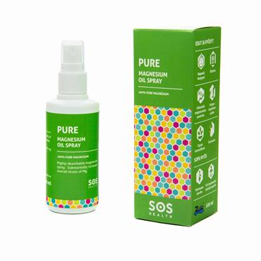 SOS Health Pure Magnesium Oil Spray 100ml