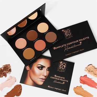 SOSU by Suzanne Jackson Complete Contour Palette Remastered