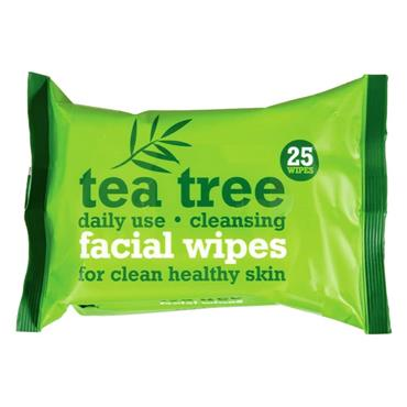 Xpel Tea Tree & Peppermint Cleansing Facial Wipes Twin Pack