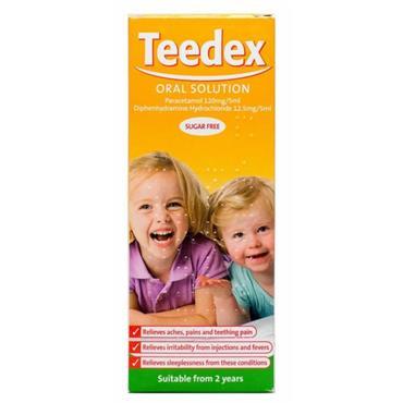 Teedex Oral Solution Sugar Free 100ml