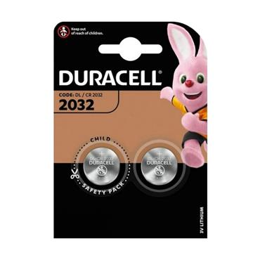 Duracell DL2032 Coin Cell Battery - Twin Pack