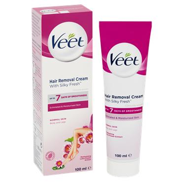 Veet Hair Removal Cream With Silky Fresh 100Ml