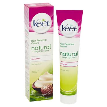 Veet Natural Inspirations Hair Removal Cream 200Ml