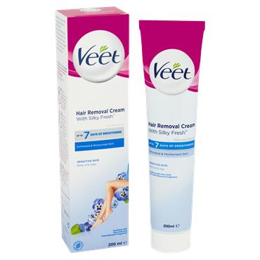 Veet Hair Removal Cream With Silky Fresh 200Ml