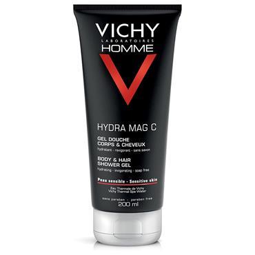 Vichy Homme Hydra Mag C+ Shower Gel 200ml