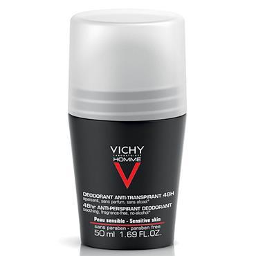 Vichy Homme 48HR Roll On Deodrant Sensitive Skin 50ml