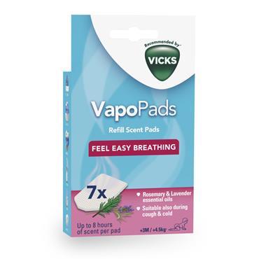 Vicks VapoPads Rosemary & Lavender Scent |VICVBR7