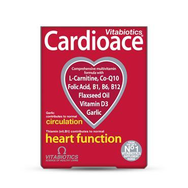 Vitabiotics Cardioace 300 Tablets
