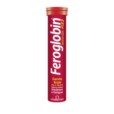Vitabiotics Ferogloblin Fizz 20 Tablets