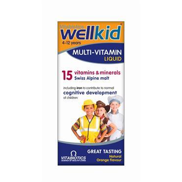 Vitabiotics Wellkid Multi-vitamin Liquid 150ml