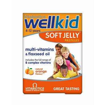 Vitabiotics Wellkid Soft Jelly Orange 30 Pastilles