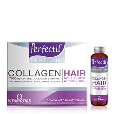 Vitabiotics Perfectil Platinum Collagen Hair Drink 10 x 50ml