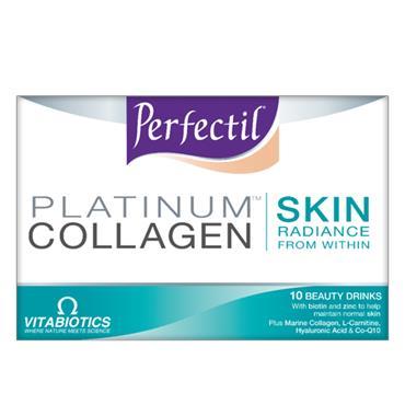 Vitabiotics Perfectil Platinum Collagen Skin Drink 10 x 50ml
