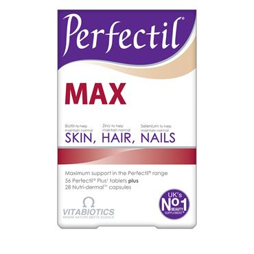 Vitabiotics Perfectil Max 56 Tablets + 28 Capsules