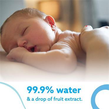 WaterWipes Baby Wipes Sensitive Skin (60 Wipes)