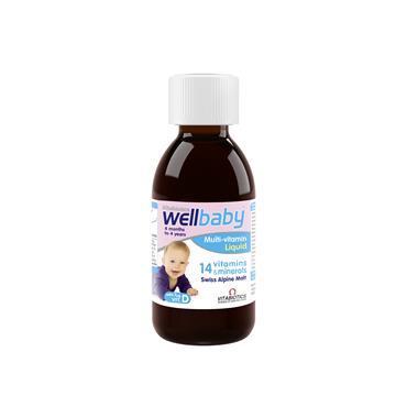 Vitabiotics Wellbaby Multi-vitamin Liquid 150ml