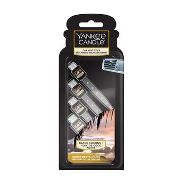 Yankee Candle Black Coconut Auto Vent Stick