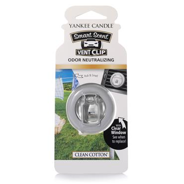 Yankee Candle Clean Cotton Auto Smart Scent Vent Clip