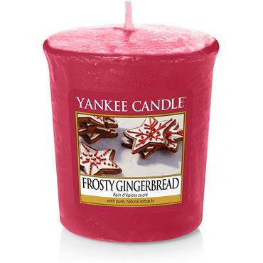 Yankee Candle Frosty Gingerbread Votive