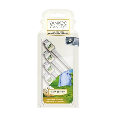 Yankee Candle Clean Cotton Auto Vent Stick