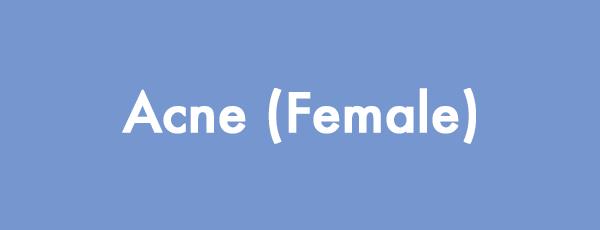Acne (Female)