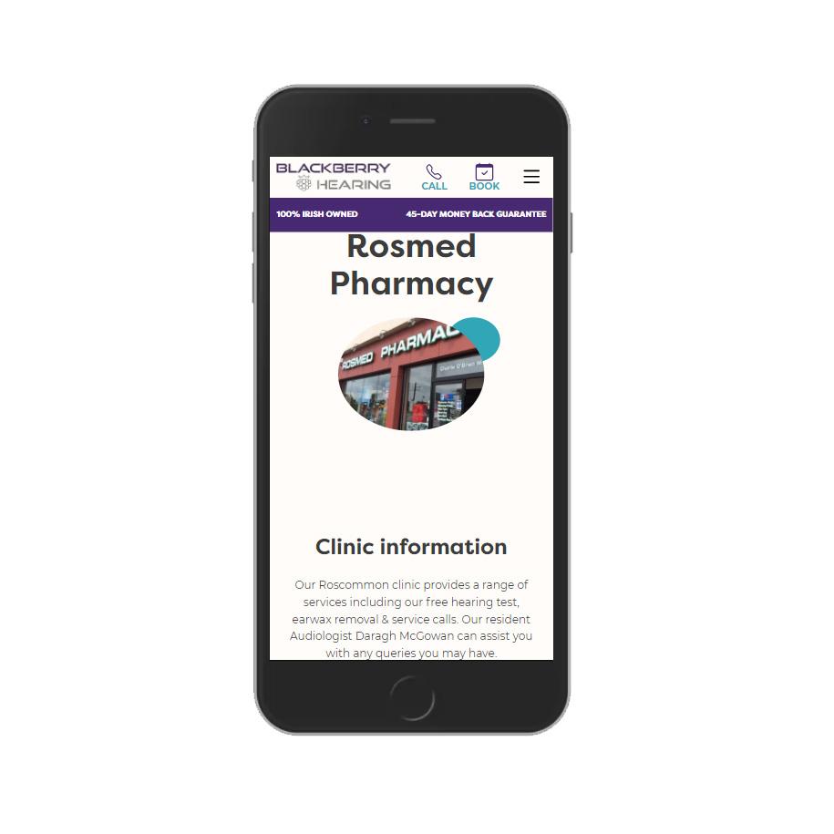 Blackberry Hearing Rosmed Pharmacy
