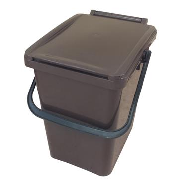 Kitchen Caddy 10 Litre - Brown
