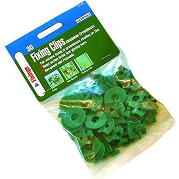 Greenhouse Fixing Clips (60 mixed pack)