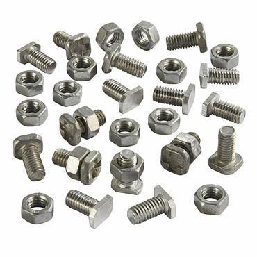 Assorted Greenhouse Nuts & Bolts (32 mixed pack)