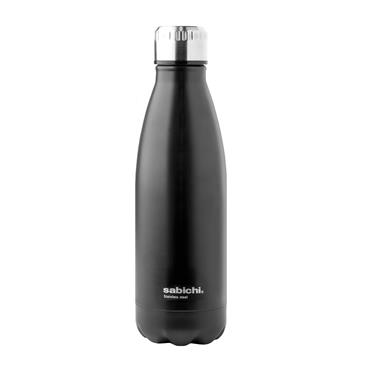 450ml Matt Black Drinks Bottle