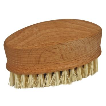 Massage hand brush made of bamboo with coconut bristles