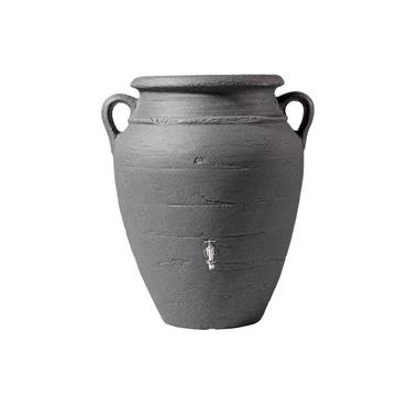 Antique Wall Amphora - Dark Granite - 260 Litres