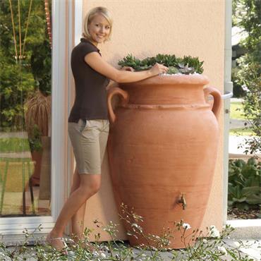 Wall Amphora 350 Litres - Terracotta