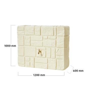 Wall Tank 300 Litres - Sandstone
