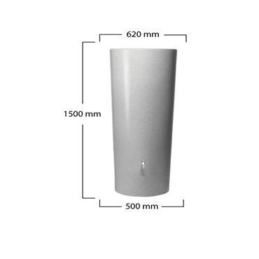 Graf Stone 2in1 Water Tank - Silver