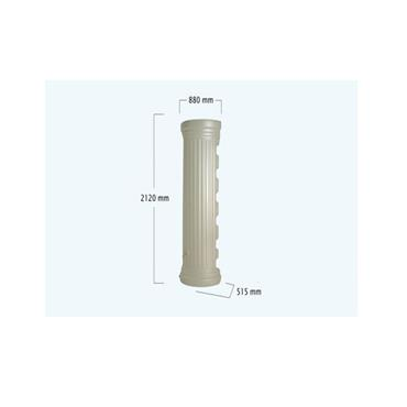 Column Wall Tank - 550 Litres - Sandstone