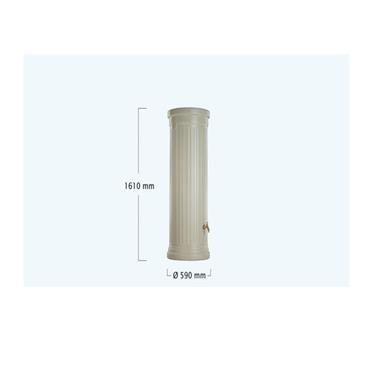 Column Tank - 330 Litres - Sandstone