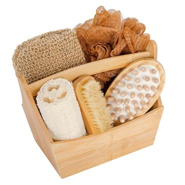 Croll and Denecke Bath Gift Set 5pc Bamboo
