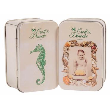 Croll and Denecke Decorative Soap Travel Tin