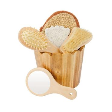 Giftset in Toasted Wooden Bucket