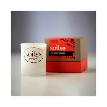 Soilse Gift Box Glass Candle - Donegal Dew  Heather and Clover